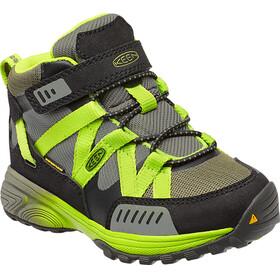 Keen Versatrail Mid WP - Chaussures Enfant - vert/olive